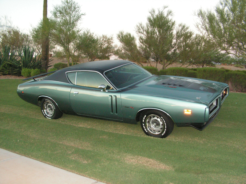 1971 DODGE CHARGER R/T 2 DOOR HARDTOP - Side Profile - 44230