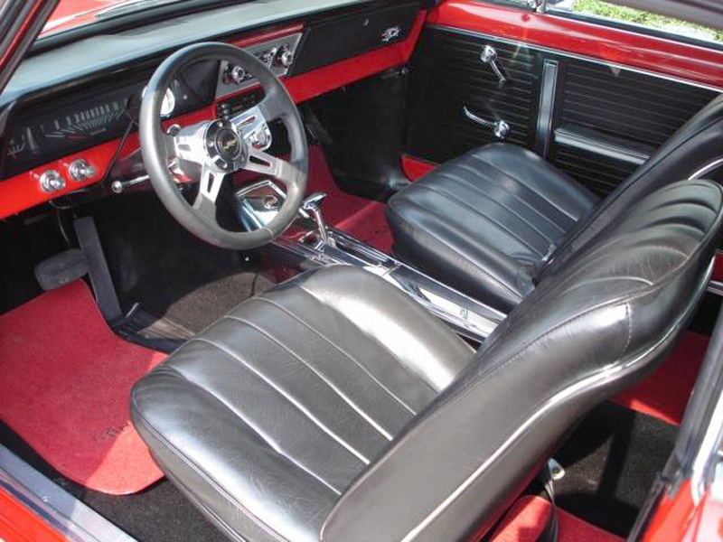 1967 CHEVROLET NOVA CUSTOM 2 DOOR HARDTOP - Interior - 44242