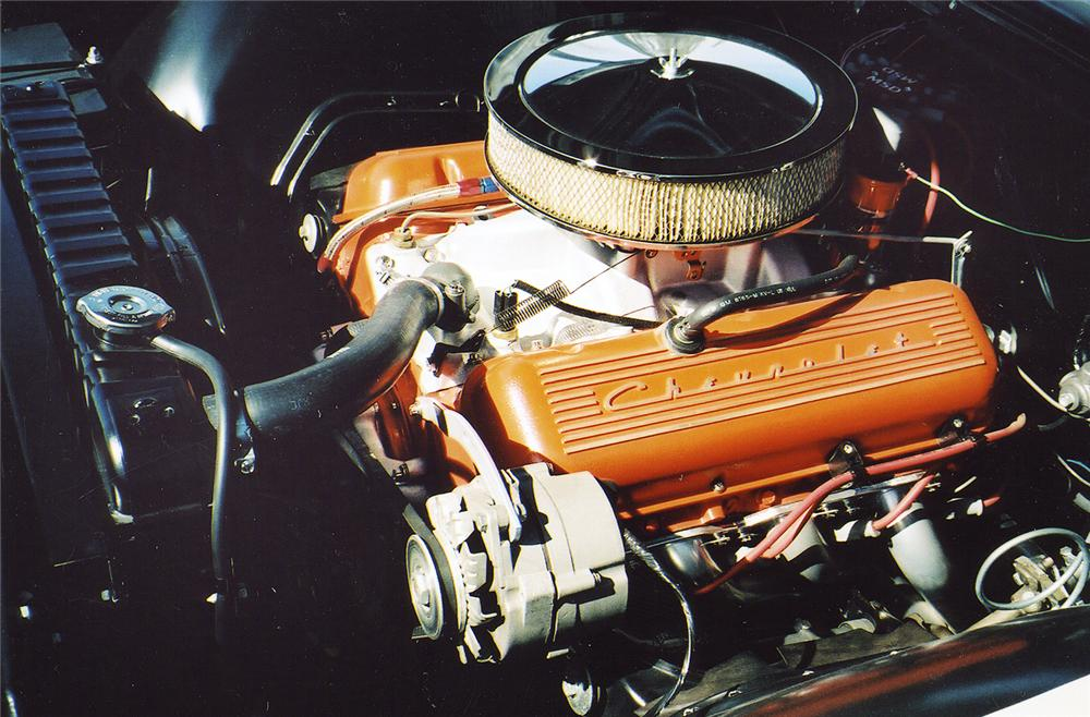 1965 CHEVROLET BISCAYNE 427 SEDAN RE-CREATION - Engine - 44253