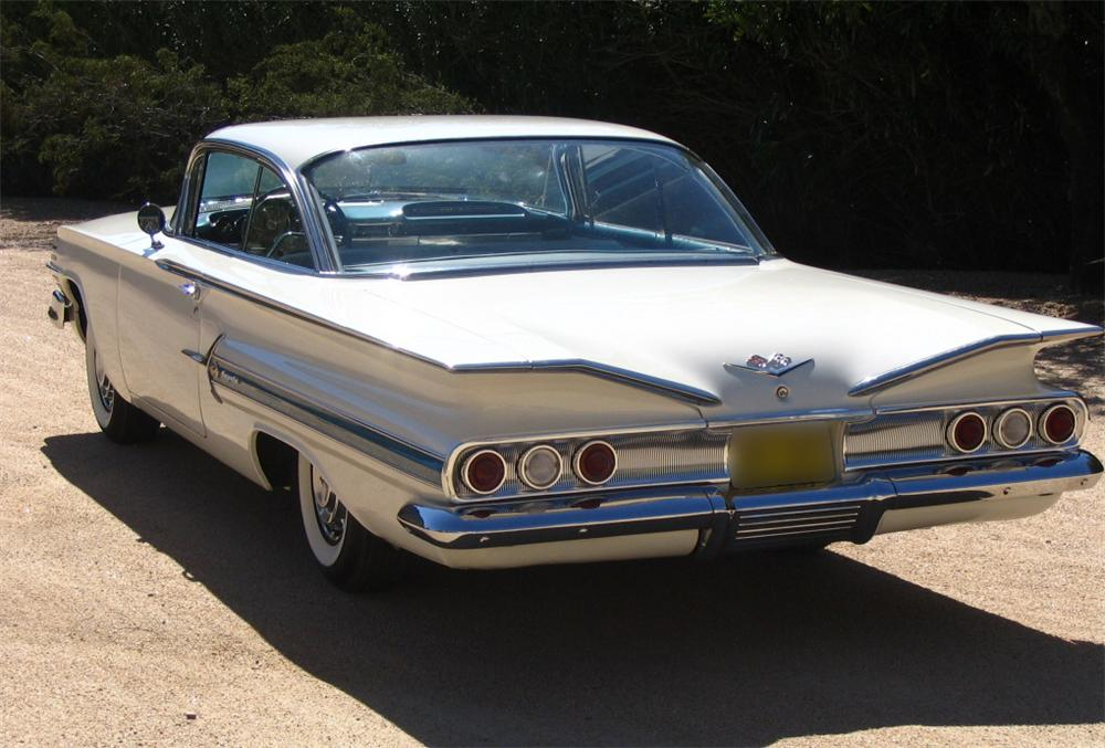 1960 CHEVROLET IMPALA SS 2 DOOR SPORT COUPE - Rear 3/4 - 44257