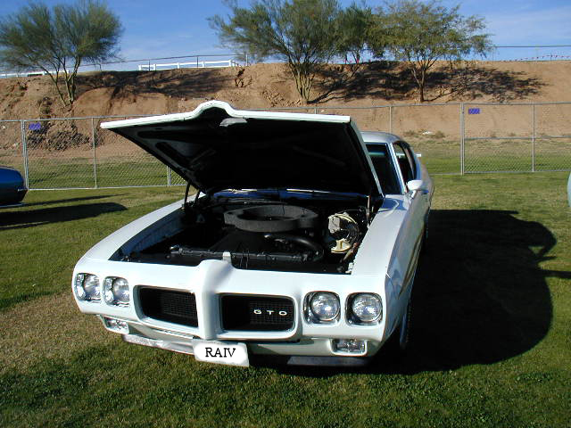 1970 PONTIAC GTO JUDGE 2 DOOR HARDTOP - Front 3/4 - 44258