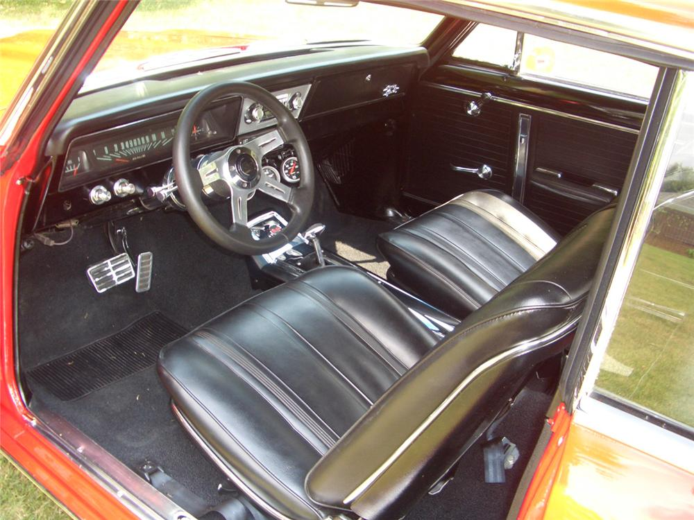 1966 CHEVROLET NOVA SS CUSTOM 2 DOOR HARDTOP - Interior - 44277
