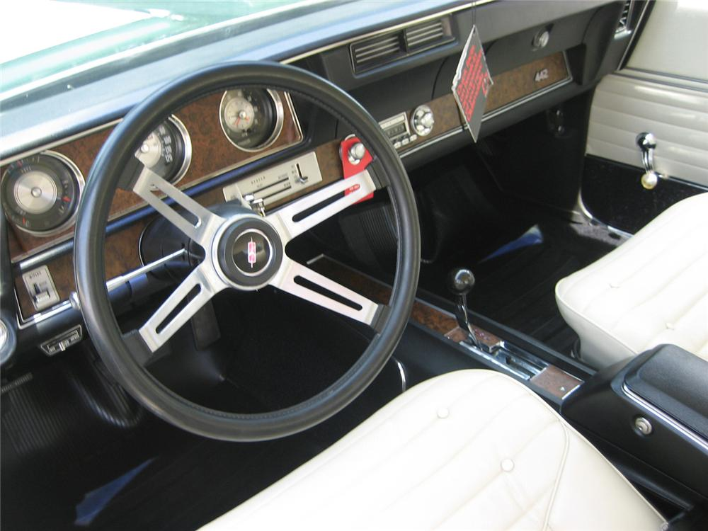 1970 OLDSMOBILE 442 W30 2 DOOR HARDTOP - Interior - 44288