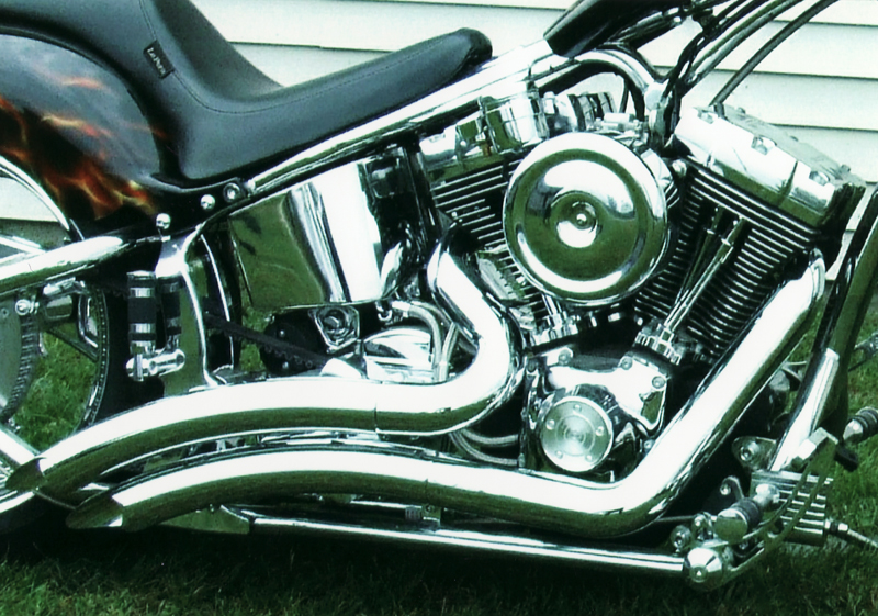 2006 LEGENDS SMOOTH ST300 CUSTOM MOTORCYCLE - Engine - 44293