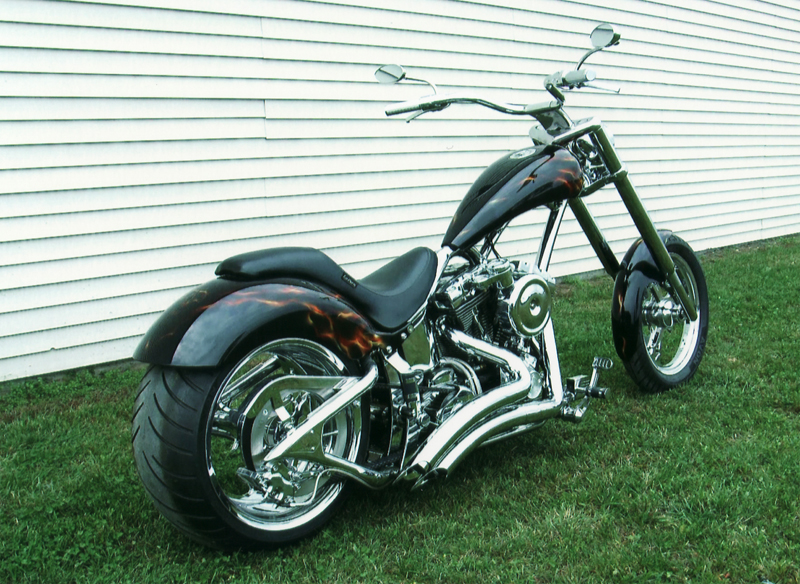 2006 LEGENDS SMOOTH ST300 CUSTOM MOTORCYCLE - Rear 3/4 - 44293