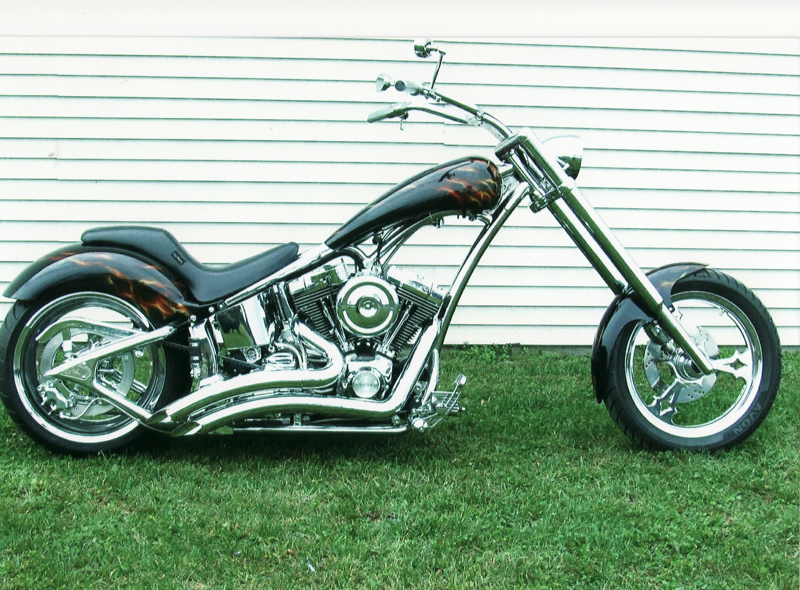 2006 LEGENDS SMOOTH ST300 CUSTOM MOTORCYCLE - Side Profile - 44293