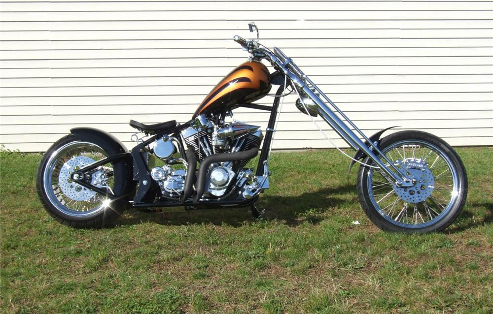 2006 LEGENDS SMOOTH STC 250 CUSTOM MOTORCYCLE - Side Profile - 44296