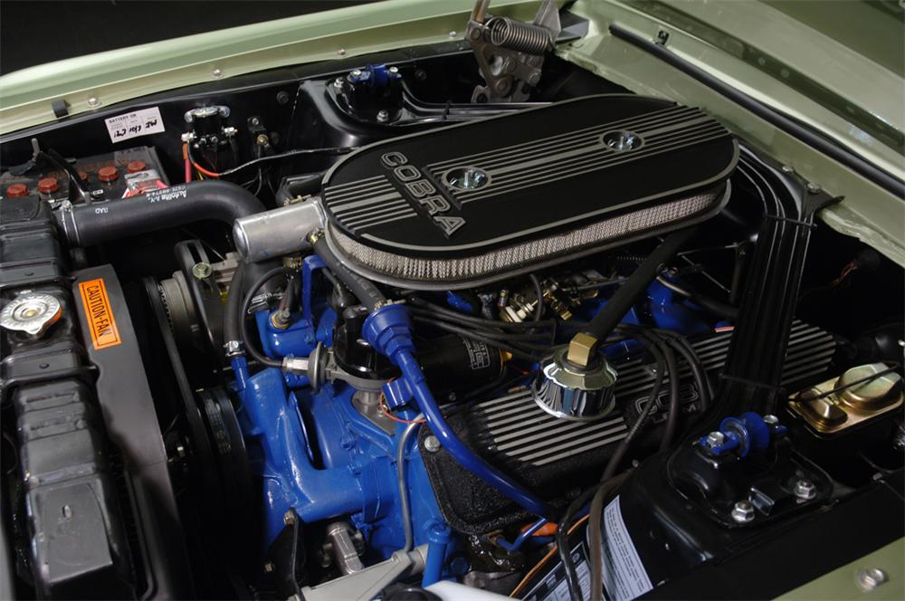 1968 SHELBY GT500 CONVERTIBLE - Engine - 44301