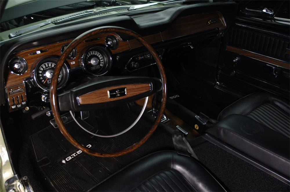 1968 SHELBY GT500 CONVERTIBLE - Interior - 44301