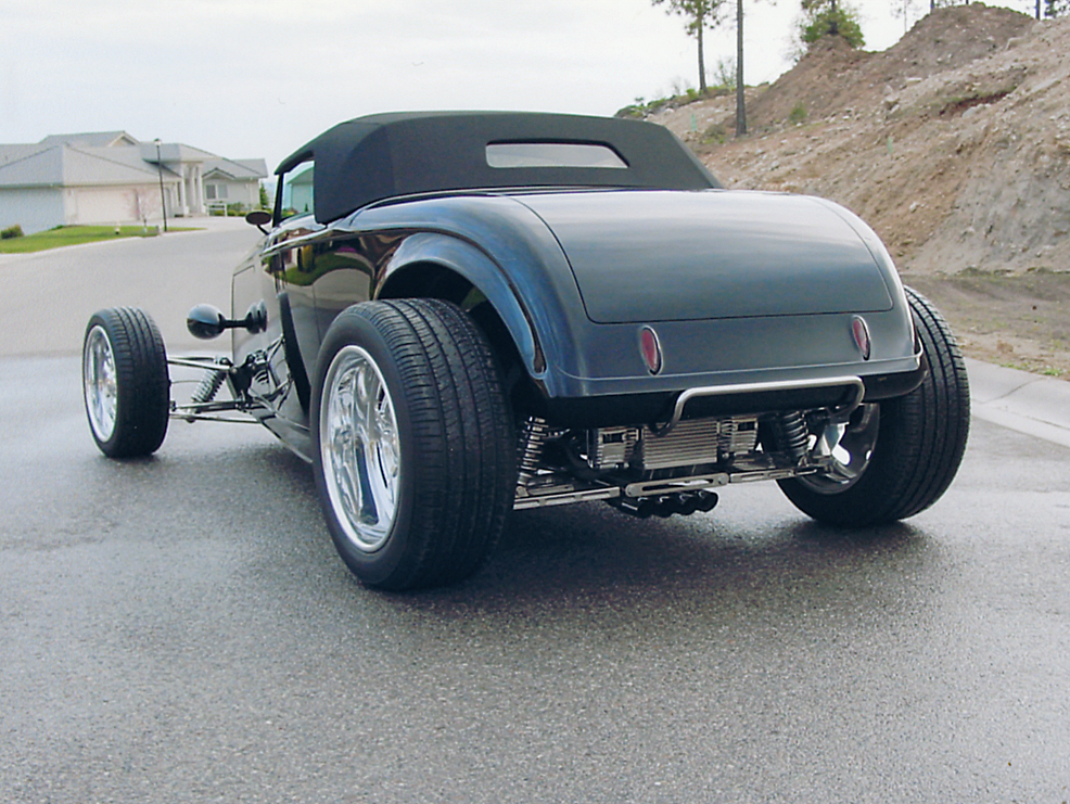 1932 MUROC CUSTOM ROADSTER - Rear 3/4 - 44305