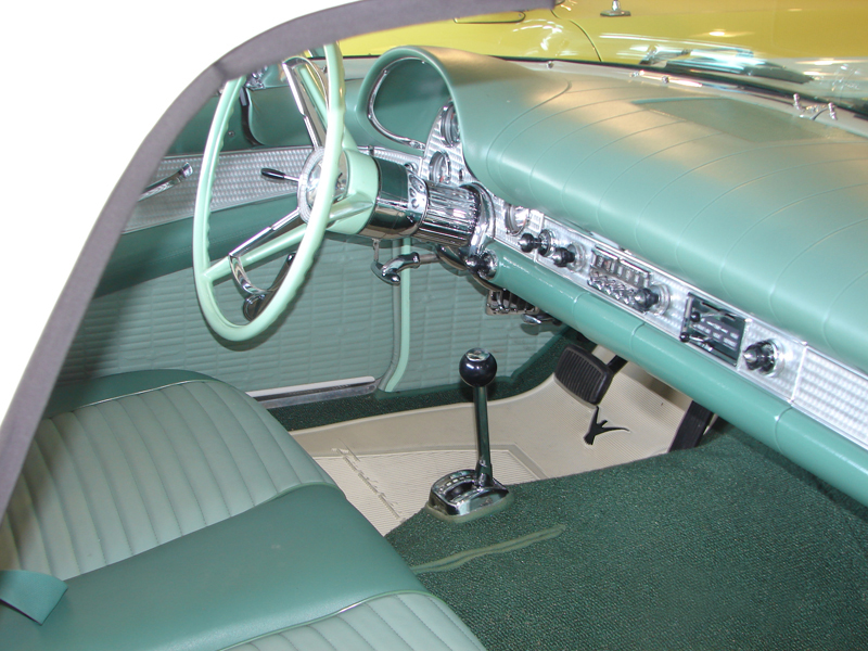1957 FORD THUNDERBIRD CONVERTIBLE - Interior - 44309