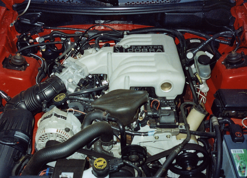 1994 FORD MUSTANG COBRA INDY PACE CAR CONVERTIBLE - Engine - 44341