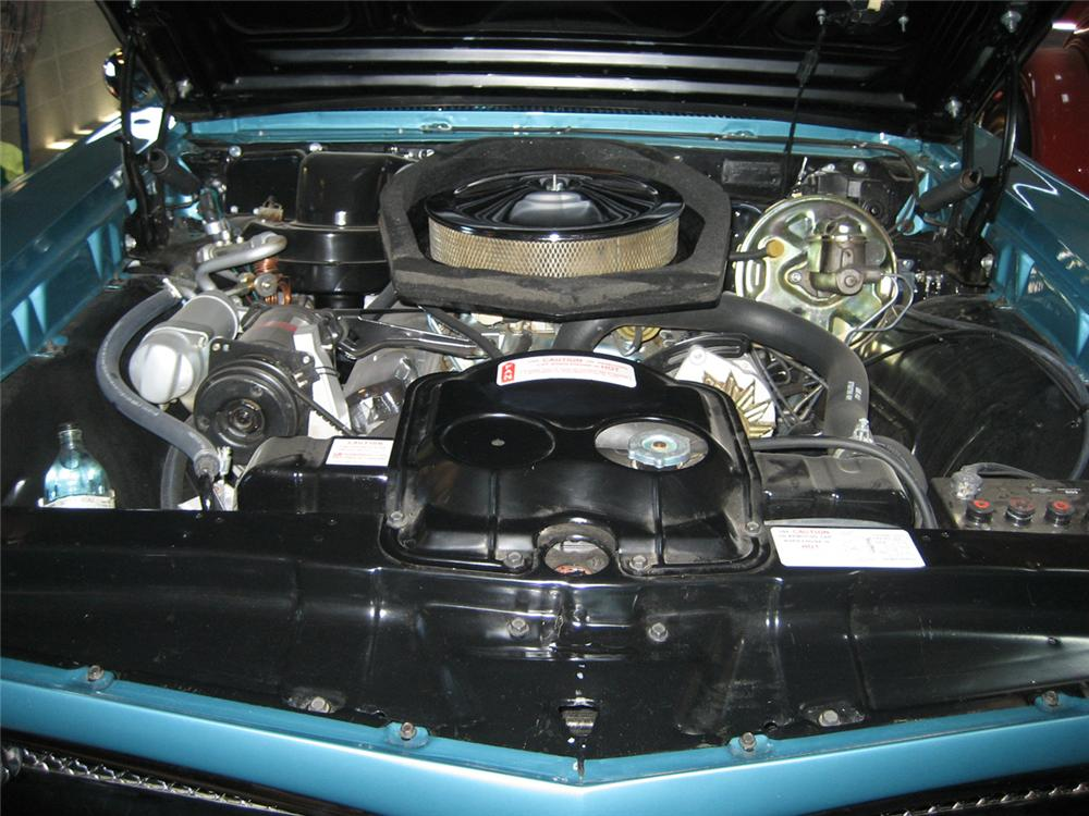 1967 PONTIAC GTO CONVERTIBLE - Engine - 44348