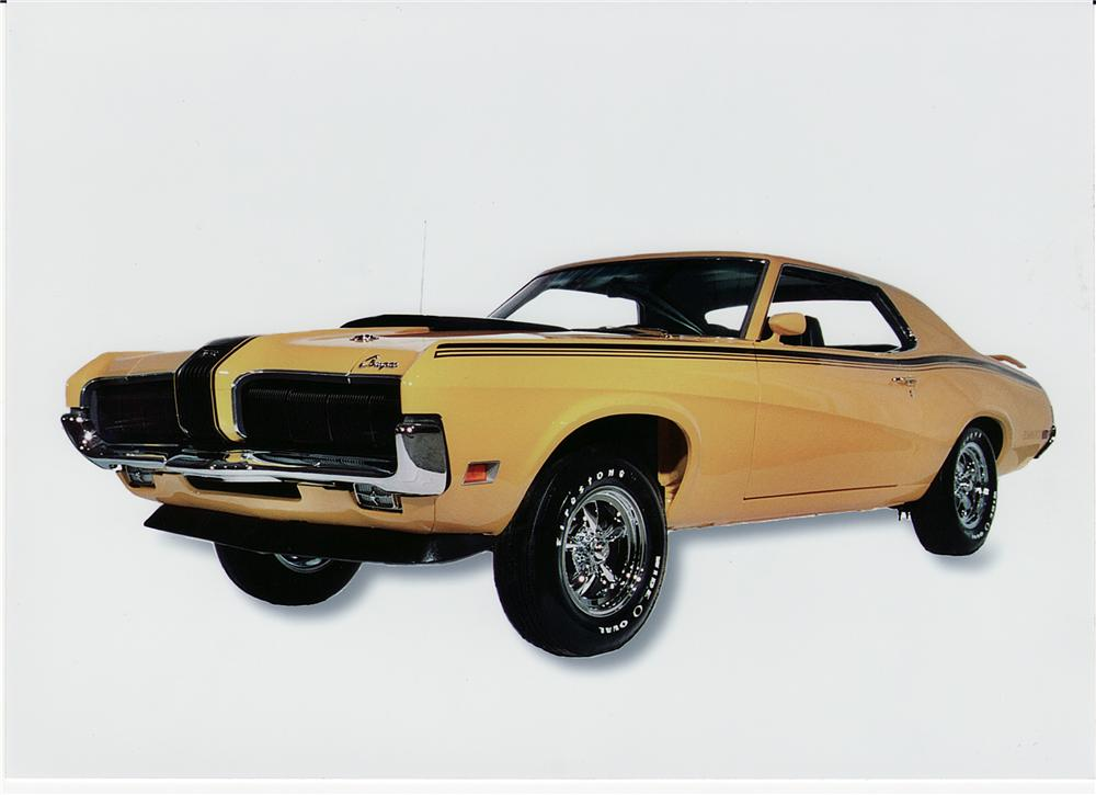 1970 MERCURY COUGAR ELIMINATOR 428 CJ COUPE - Front 3/4 - 44357
