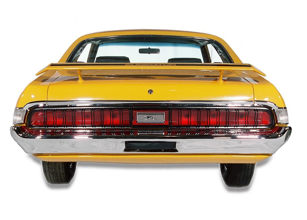 1970 MERCURY COUGAR ELIMINATOR 428 CJ COUPE - Rear 3/4 - 44357