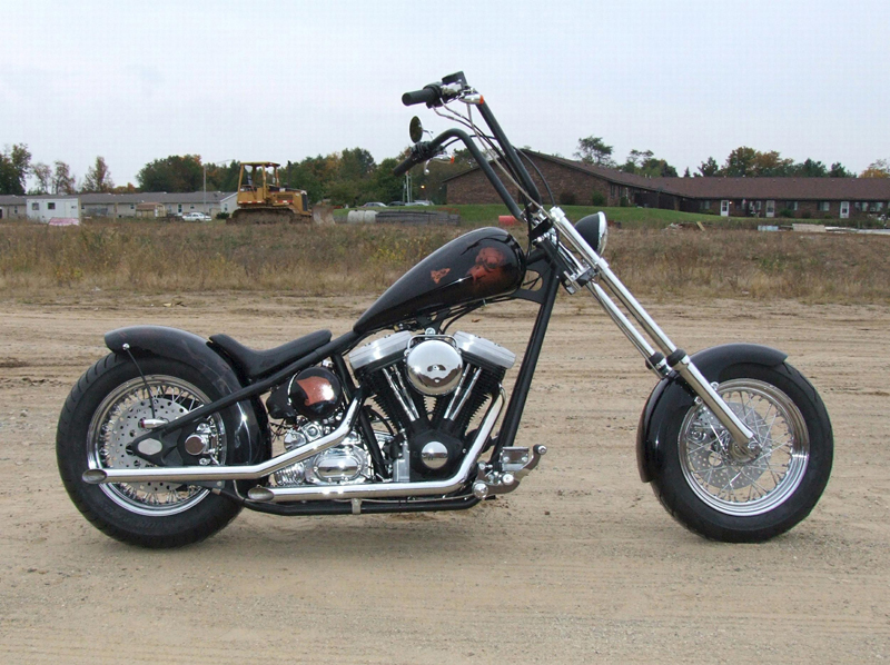 2006 LEGENDS CUSTOM MOTORCYCLE - Side Profile - 44359