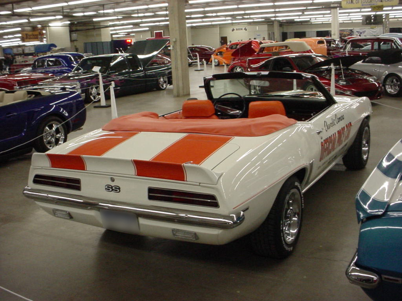 1969 CHEVROLET CAMARO Z-11 INDY PACE CAR CONVERTIBLE - Front 3/4 - 44366