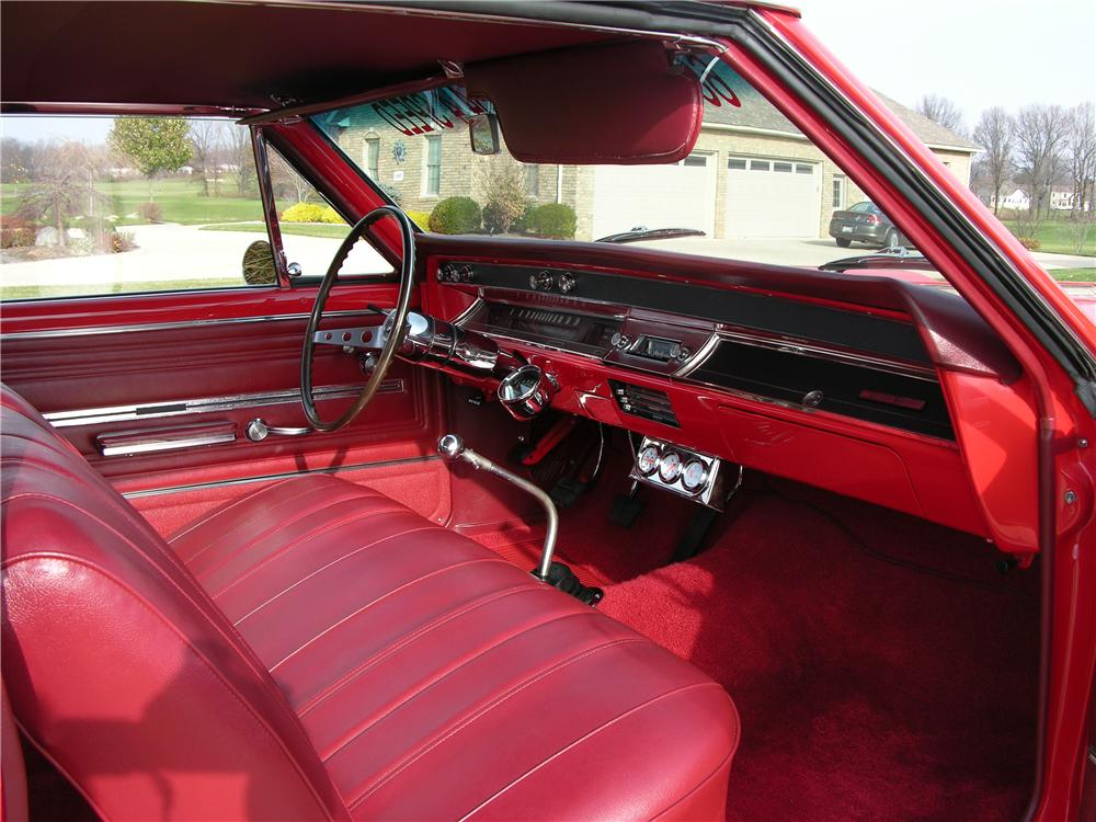1966 CHEVROLET CHEVELLE SS CUSTOM 2 DOOR HARDTOP - Interior - 44377