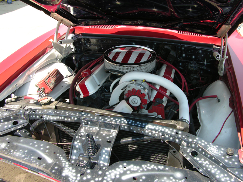 1968 PONTIAC FIREBIRD CUSTOM COUPE - Engine - 44378