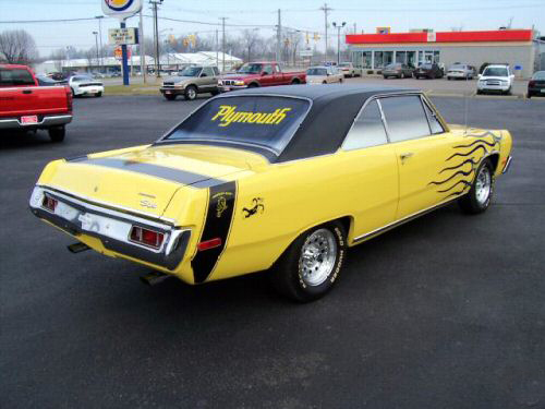 1972 PLYMOUTH SCAMP CUSTOM 2 DOOR HARDTOP - Rear 3/4 - 44381