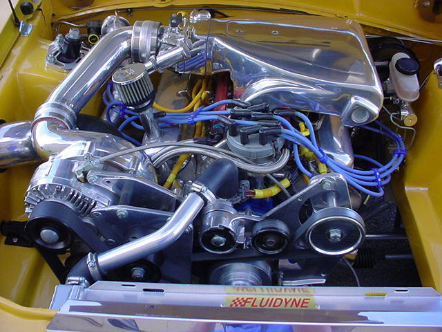 1990 FORD MUSTANG CUSTOM COUPE - Engine - 44387