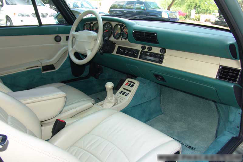1997 PORSCHE C4S COUPE - Interior - 44389