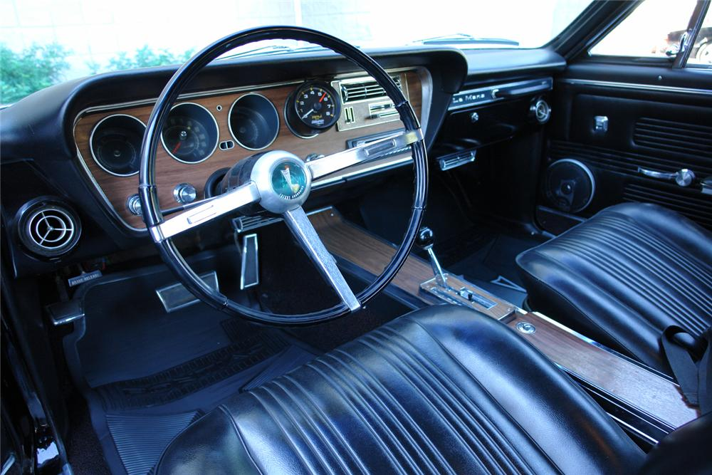 1967 PONTIAC LEMANS CUSTOM 2 DOOR HARDTOP - Interior - 44390