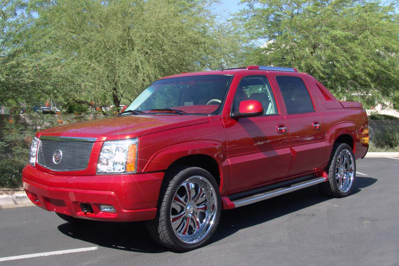 2002 CADILLAC ESCALADE EXT CUSTOM SHOW TRUCK - Front 3/4 - 44392