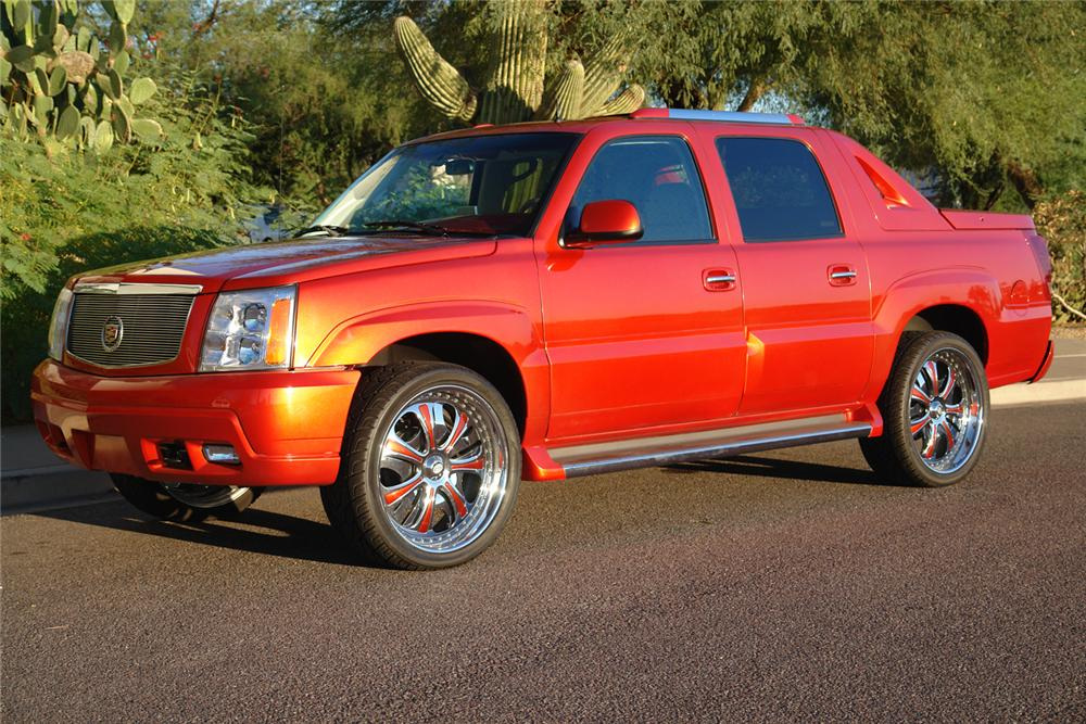 Cadillac Escalade 2018 Red >> 2002 CADILLAC ESCALADE EXT CUSTOM SHOW TRUCK - 44392