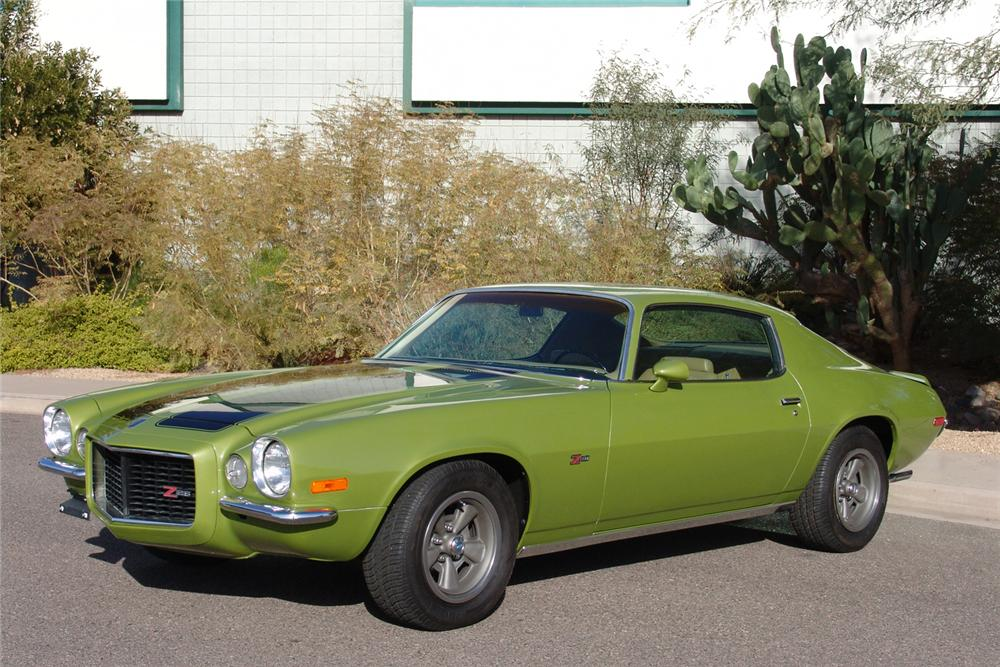 1970 CHEVROLET CAMARO COUPE - Front 3/4 - 44397