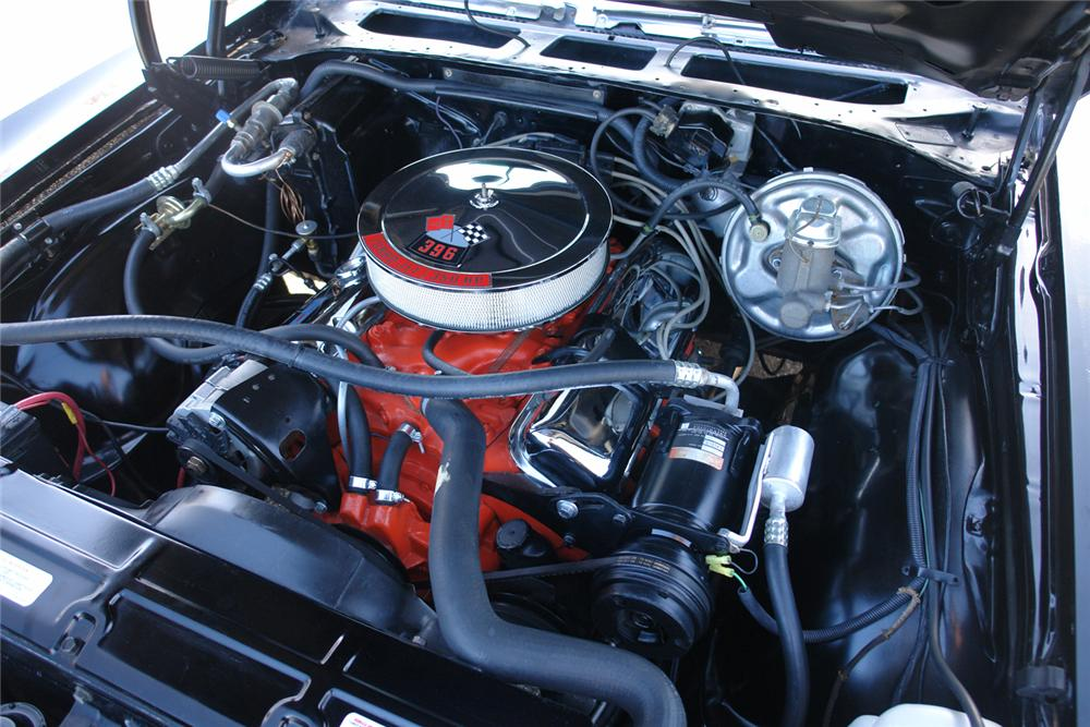 1970 CHEVROLET CHEVELLE SS 396 COUPE - Engine - 44398