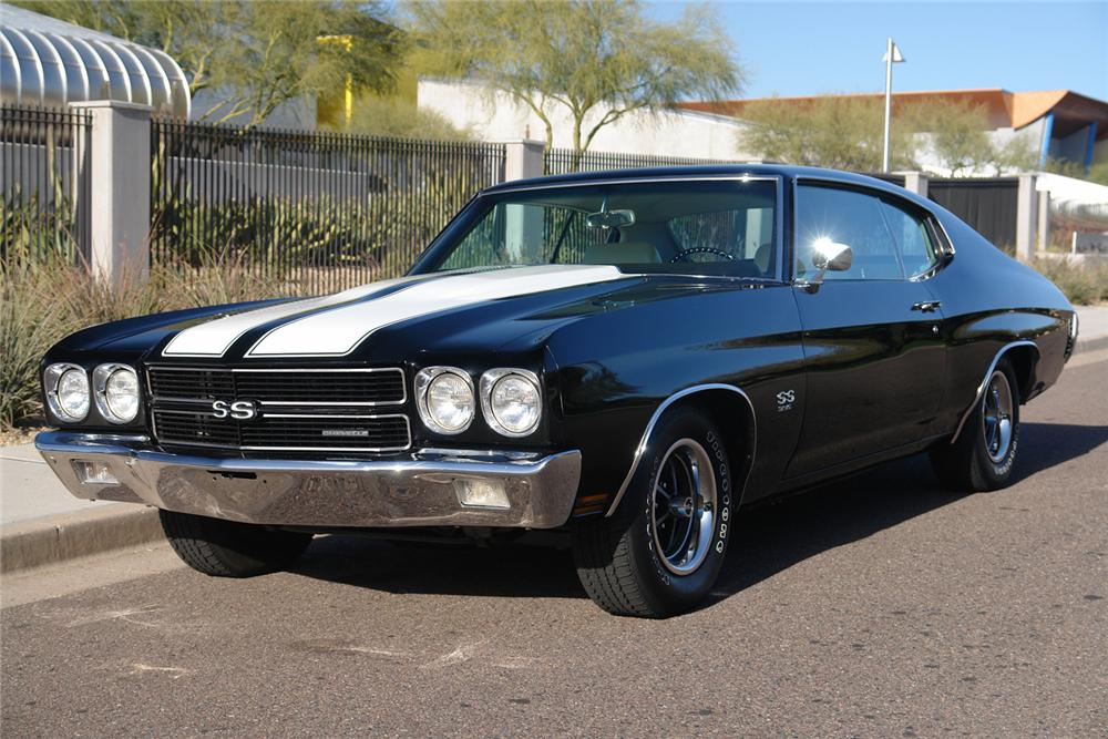 1970 CHEVROLET CHEVELLE SS 396 COUPE - Front 3/4 - 44398