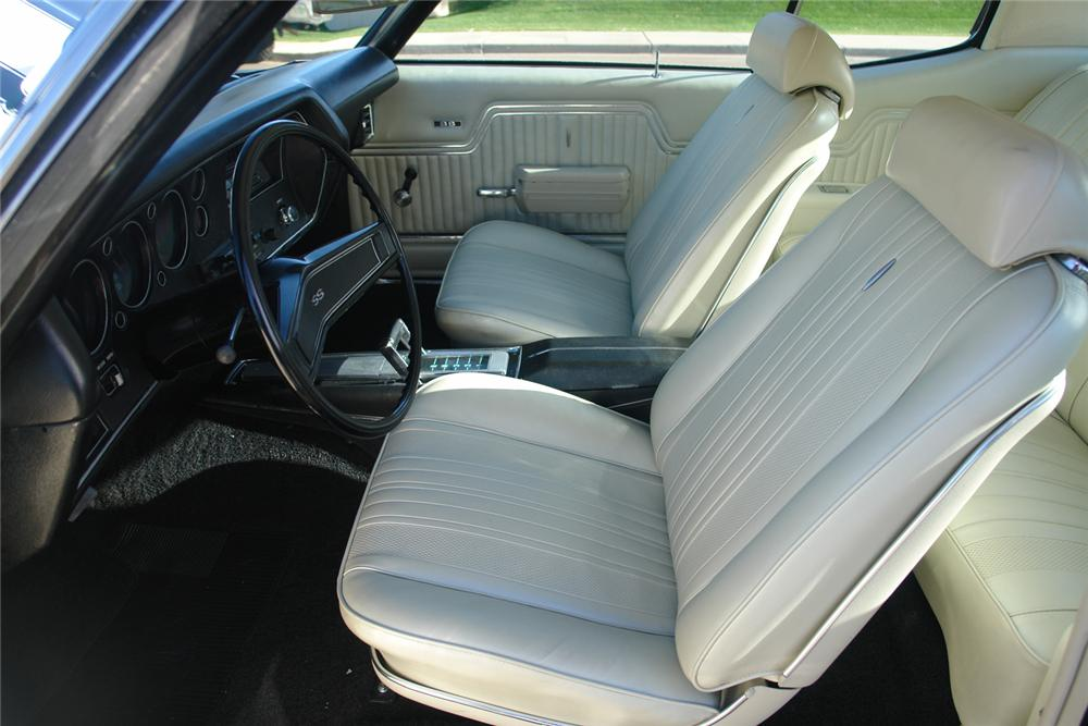 1970 CHEVROLET CHEVELLE SS 396 COUPE - Interior - 44398