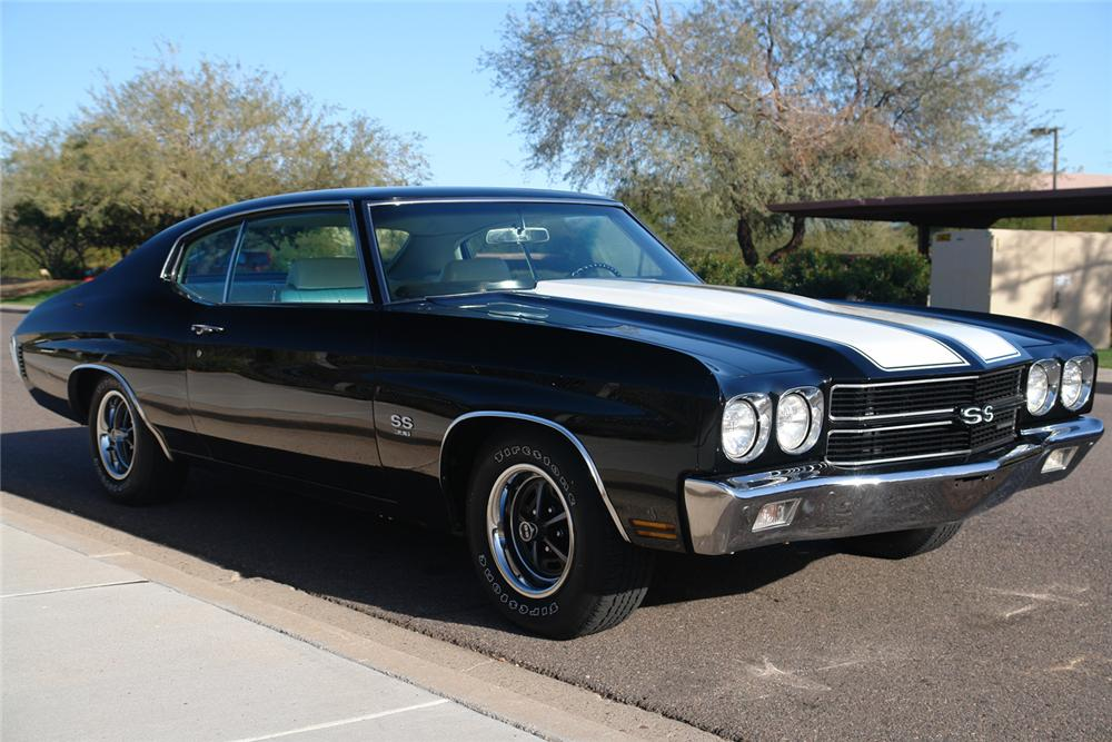 1970 CHEVROLET CHEVELLE SS 396 COUPE - Side Profile - 44398