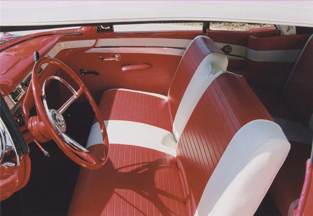 1957 FORD FAIRLANE CONVERTIBLE - Interior - 44409