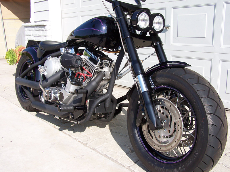 2005 ULTIMA HARDTAIL CHOPPER - Front 3/4 - 44431