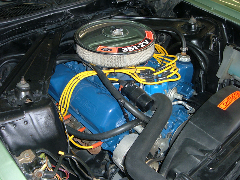 1971 FORD MUSTANG CUSTOM CONVERTIBLE - Engine - 44439