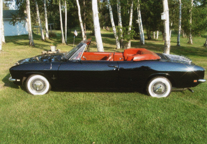 1968 CHEVROLET CORVAIR CONVERTIBLE - Side Profile - 44444
