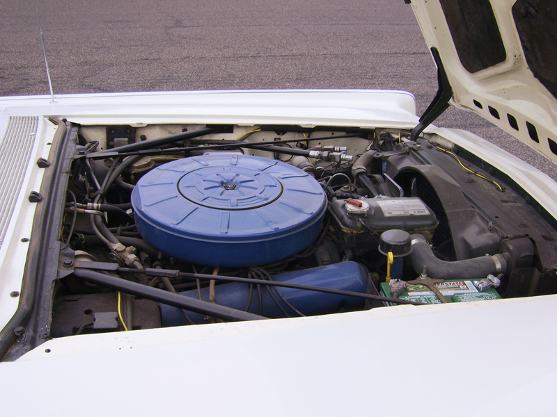 1966 LINCOLN CONTINENTAL CONVERTIBLE - Engine - 44448