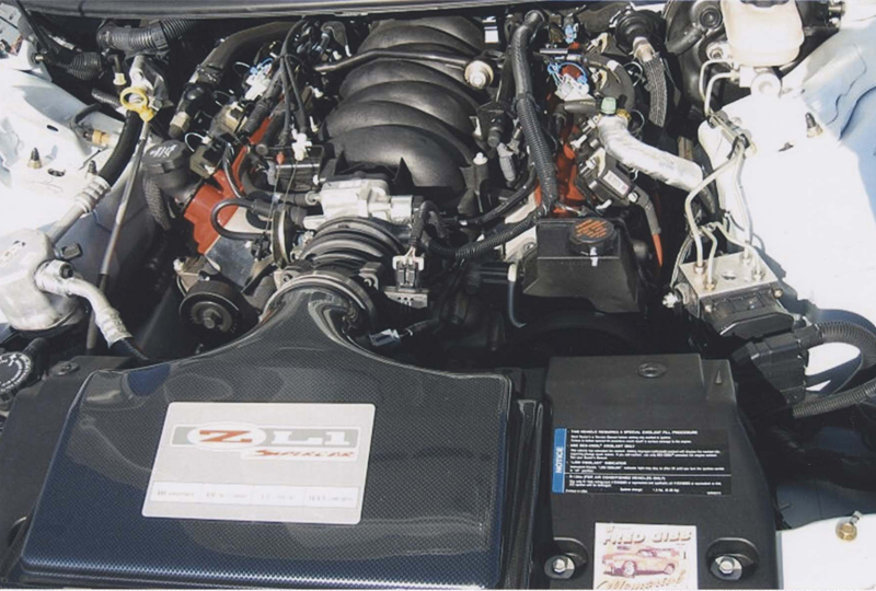 2002 CHEVROLET CAMARO ZL1 COUPE - Engine - 44467