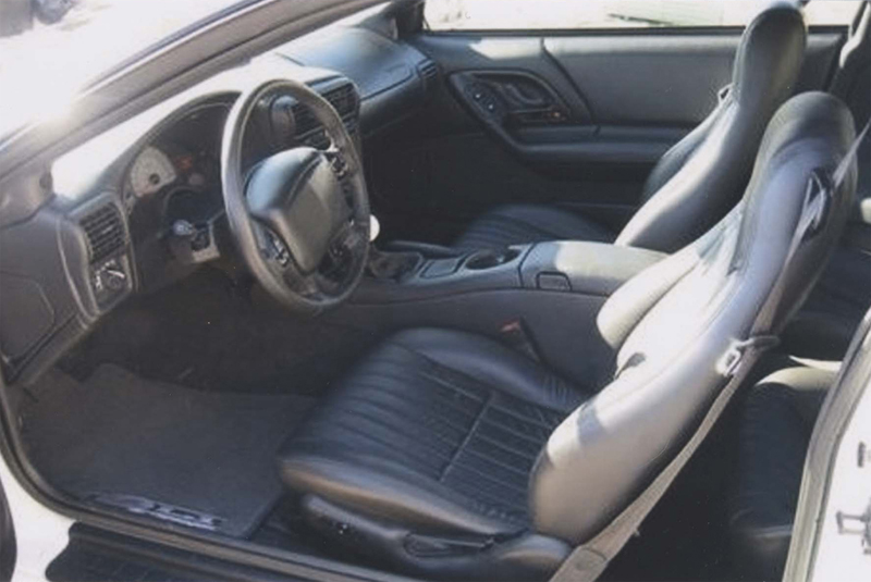 2002 CHEVROLET CAMARO ZL1 COUPE - Interior - 44467