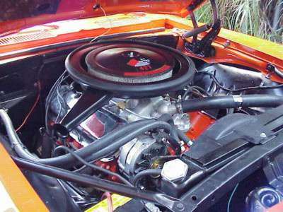 1969 CHEVROLET CAMARO COPO COUPE RE-CREATION - Engine - 44468