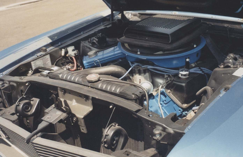 1970 FORD MUSTANG MACH 1 FASTBACK - Engine - 44471