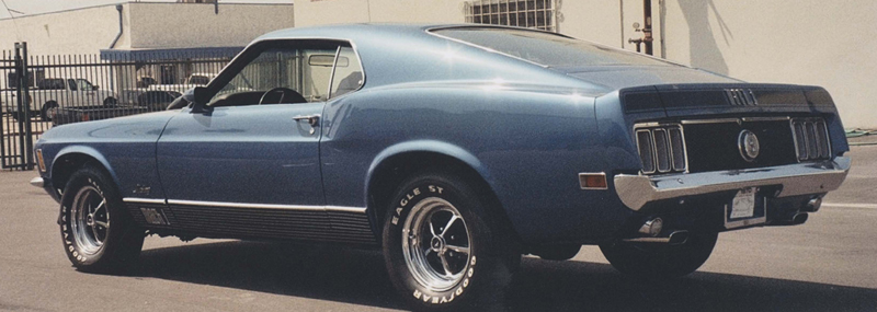 1970 FORD MUSTANG MACH 1 FASTBACK - Rear 3/4 - 44471