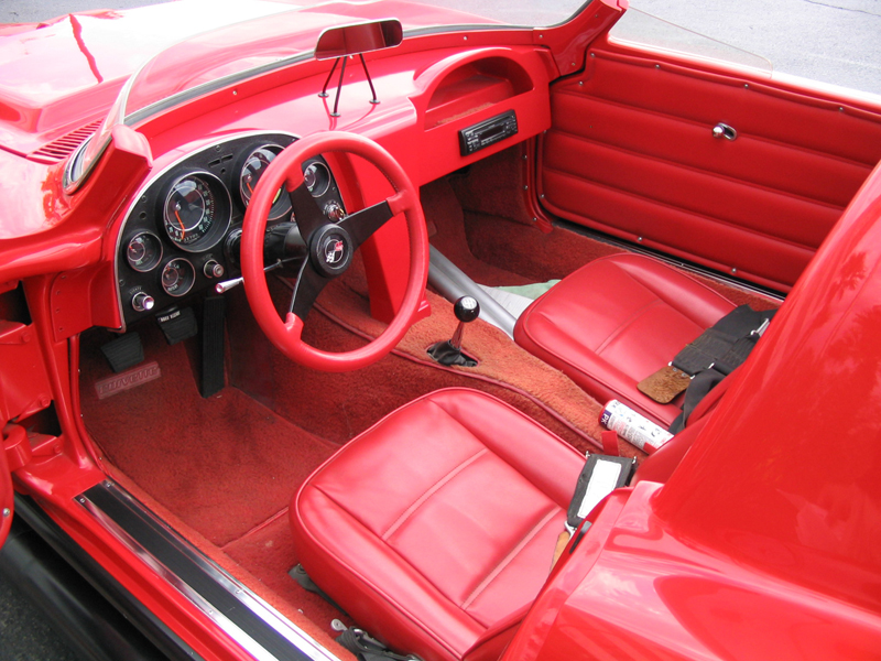 1964 CHEVROLET CORVETTE GRAND SPORT RE-CREATION - Interior - 44480