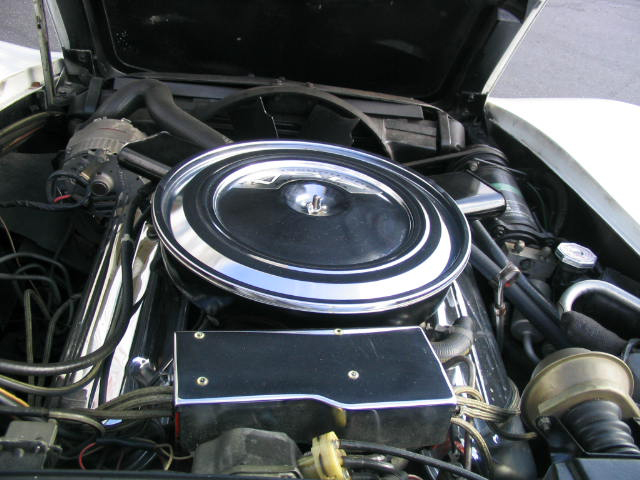 1971 CHEVROLET CORVETTE COUPE - Engine - 44481