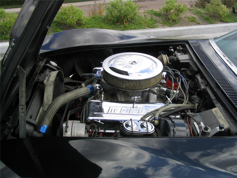 1968 CHEVROLET CORVETTE L88 COUPE - Engine - 44484
