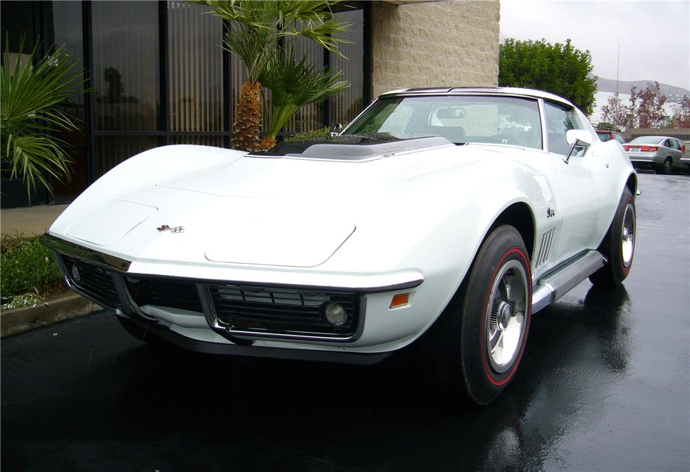 1969 CHEVROLET CORVETTE ZL1 COUPE RE-CREATION - Front 3/4 - 44486