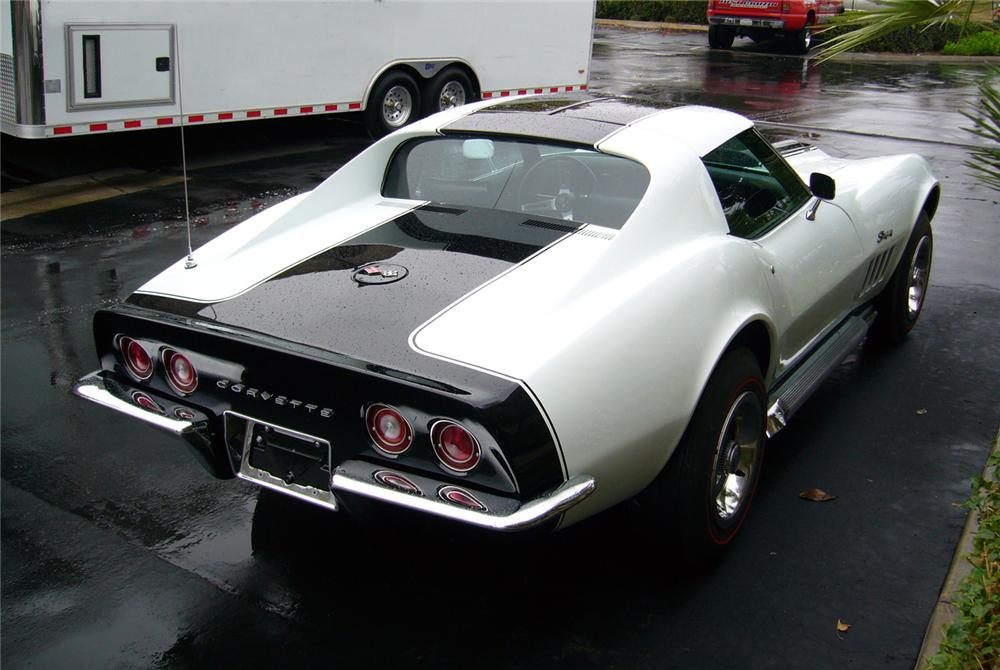 1969 CHEVROLET CORVETTE ZL1 COUPE RE-CREATION - Rear 3/4 - 44486