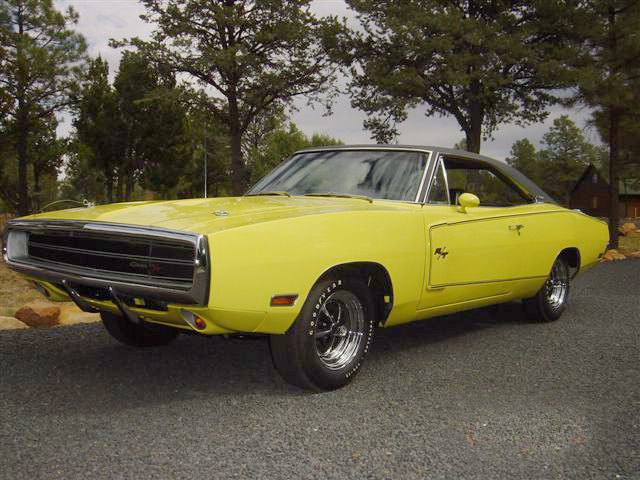 1970 DODGE CHARGER R/T 2 DOOR HARDTOP - Front 3/4 - 44488